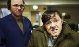 Pilkington (L) & Gervais(R) in Derek