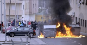 Riots in Melilla