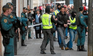 spanishpoliceagaisnbasquedissidents