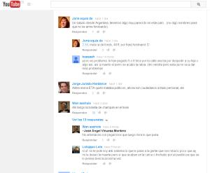 Ejemplo de delitos en youtube